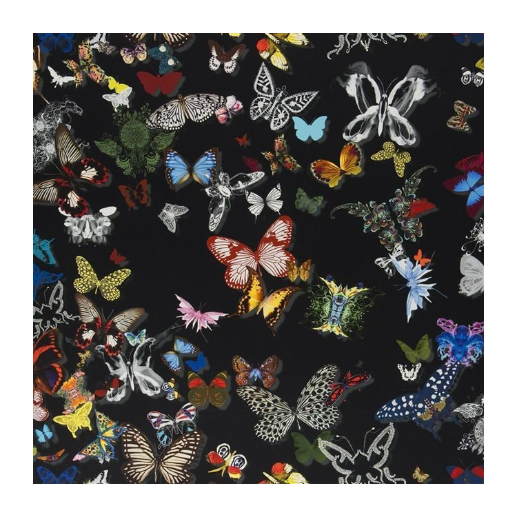 TESSUTO CHRISTIAN LACROIX - BUTTERFLY PARADE - FCL025/03 OSCURO