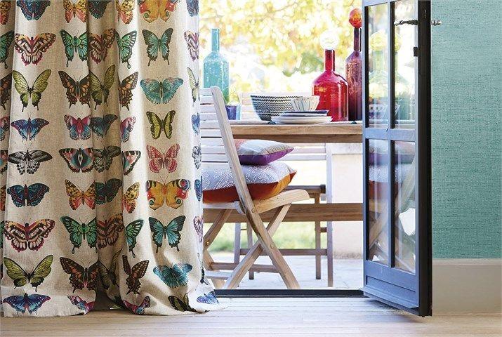 Tessuto harlequin papilio - Telas estampadas para cortinas ...