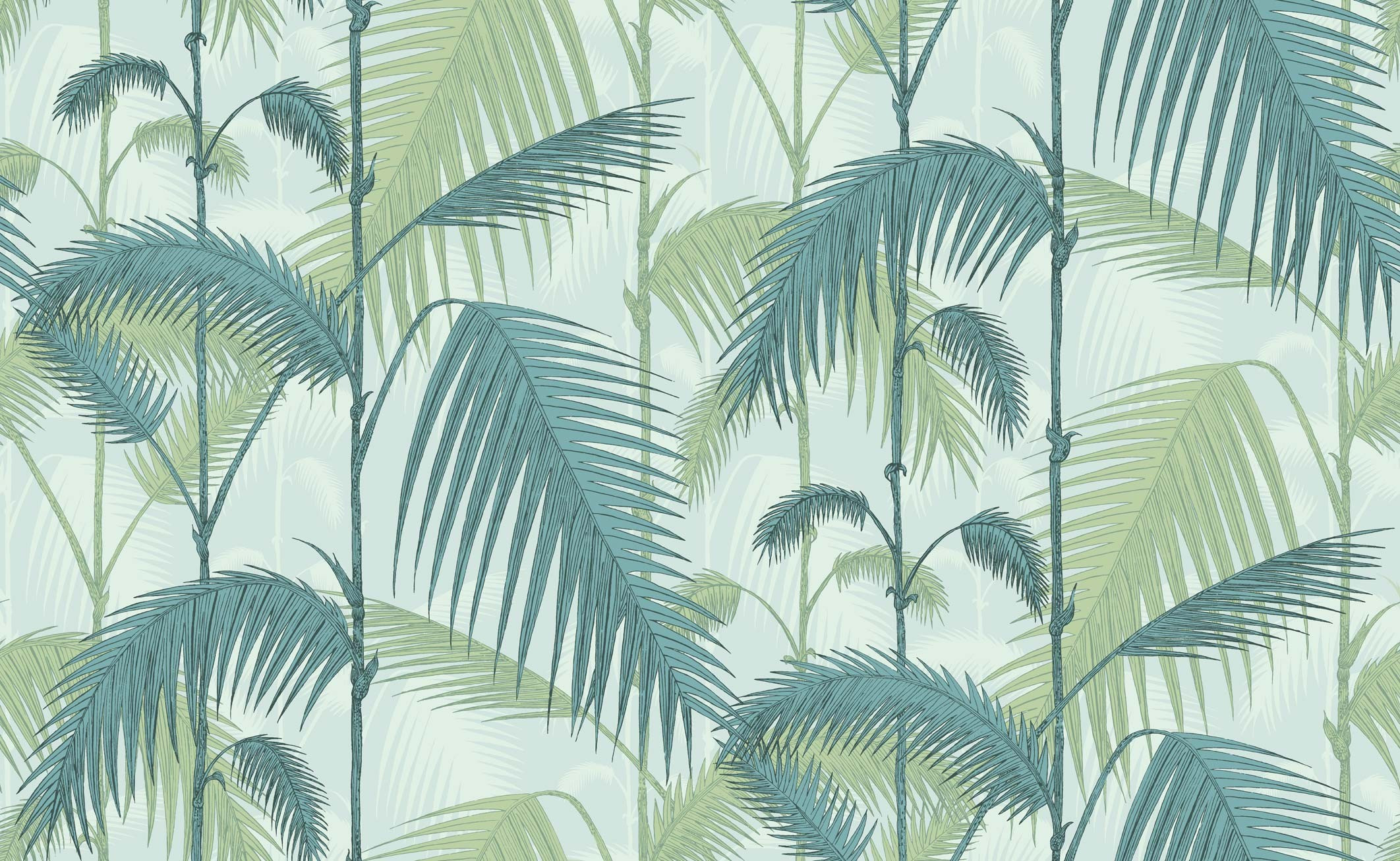 Carta parati cole son palm jungle for Carta parati online