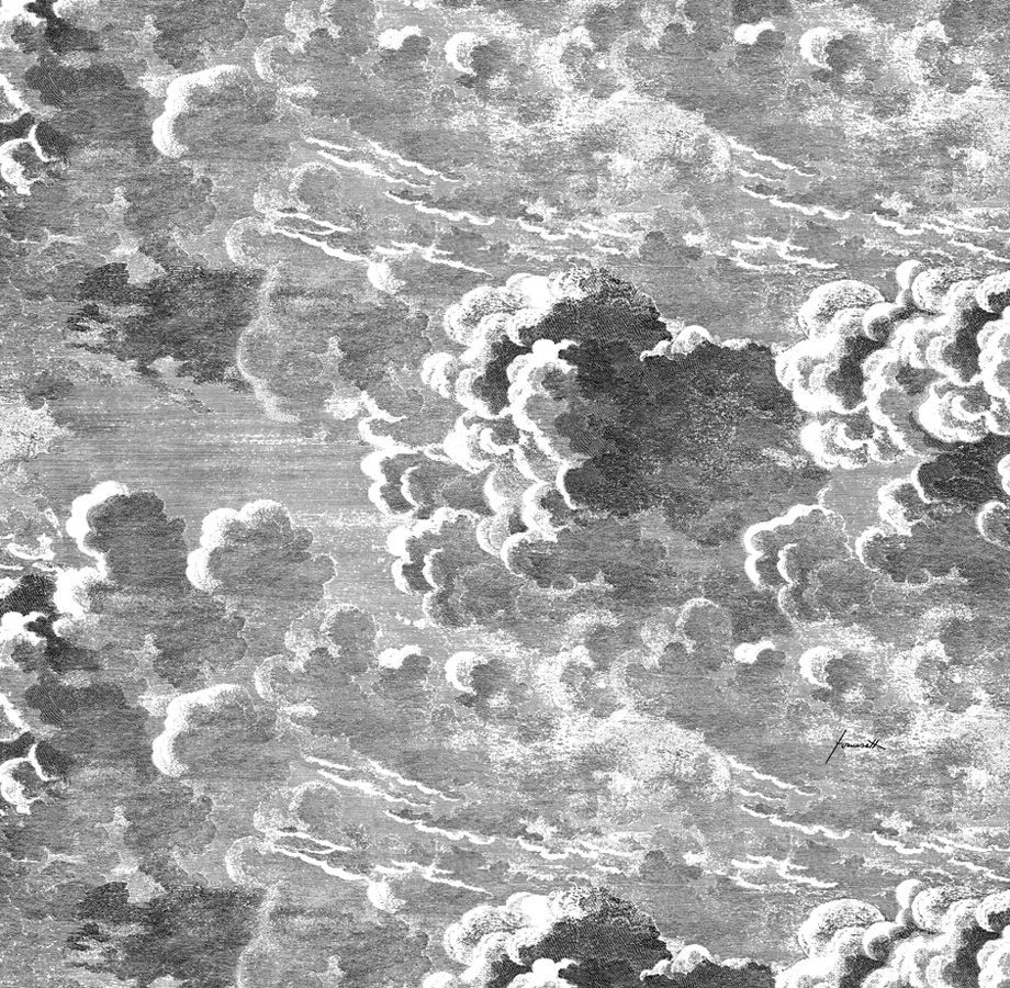 Carta Parati Fornasetti Nuvole